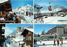 BG12312 cable train adelboden  ski  switzerland