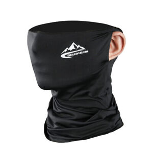 Multi-use Neck Gaiter Balaclava Bandana Mouth Face Scarf Mask Head Cover Scarves