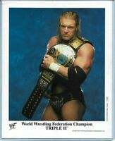 WWE TRIPLE H P-586 OFFICIAL LICENSED AUTHENTIC ORIGINAL 8X10 PROMO PHOTO RARE