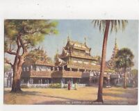 The Queens Golden Kyoung Mandalay Burma [Tuck 7238] Vintage Postcard 800a