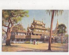 The Queens Golden Kyoung Mandalay Burma [Tuck 7238] Vintage Postcard 800a