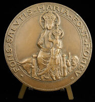 Medal Mantis the Blank Marie & Jesus Quote Flame Olympic 85mm Medal