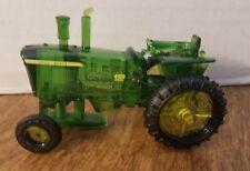 "John Deere Plastic Mini Tractor 4020 Diesel Tractor 3"" x 1.5"" Great Shape!"