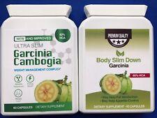 Ultra Delgado Garcinia Cambogia & Body Slim hacia abajo Extrema Pérdida de Peso Fórmula