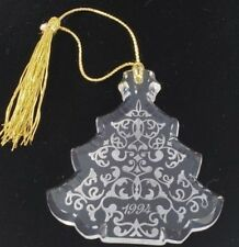 Lenox Glass Christmas Tree Ornament Germany 1994