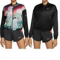Nike Damen Wende Laufjacke Reversible Full Zip Running Jacke CJ4976-010 Sport XS