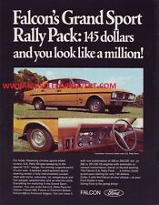 FORD XY GS FAIRMONT A3 ADVERTISEMENT POSTER AD SALES BROCHURE WALL ART MANCAVE