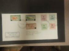 Tokelau Islands 1967 First Outgoing Mail w/ Decimal Currency Stamps - #10 Cover