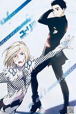 Japanese Anime Yuri! On Ice Poster #A7 Yuri Katsuki Victor Nikiforov Plisetsky