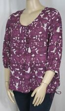 Target 3/4 Sleeve Tunic Floral Tops & Blouses for Women