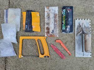 DIY Tiling Tools Job Lot