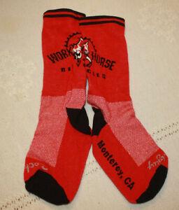 bicycle socks/new no tags.Work Horse/ Sock Guy