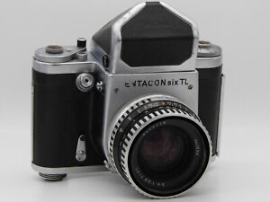 Pentacon Six TL Medium Format Camera + Zeiss Biometar 80mm F2.8 Lens