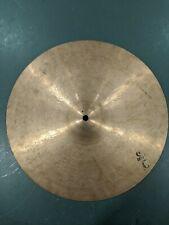 "Vintage Pasha (Italian) Cymbal 13"" medium 1950-60s"
