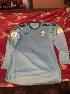 mexico goalkeeper jersey adizero player issue