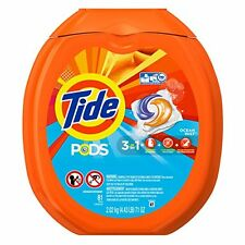 tide Laundry Detergent Ocean Mist81Count Stain Remover Brightener Wash Clothing