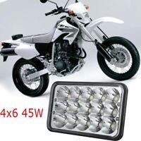 4x6 LED Headlight 9-30V DC For Suzuki DRZ400SM/DRZ400S/DRZ400E High-Low Beam