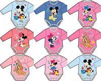 Disney Baby Boys Girls Bodysuit Jumpsuit Baby grows romper newborn - 23 months.