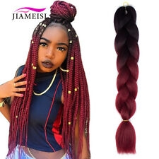 24inch Ombre Kanekalon Jumbo Twist Braiding Fiber Synthetic Hair Extensions 100g