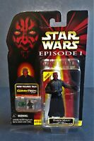 1999 Hasbro Star Wars Darth Maul Removable Blade Lightsaber with Cometech