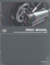 Harley-Davidson 2007 VRSC Models Electrical Diagnostic Manual  P/N 99499-07