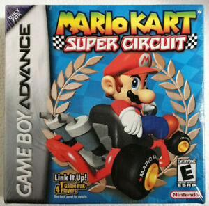 NEW Mario Kart Super Circuit (Nintendo Game Boy Advance GBA) Factory Sealed