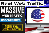 drive keyword targeted USA web traffic to  Website Traffic