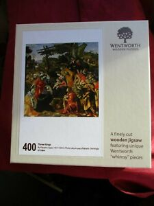 Wentworth Wooden 400 Piece Puzzle Three  Kings By Flippino Lippi Unused?