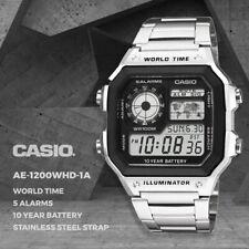 Casio Genuine AE-1200WHD-1A Digital Quartz Men's Watch Sport FREE AU SHIPPING
