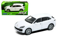 WELLY 1/24 SCALE WHITE PORSCHE CAYENNE TURBO DIECAST CAR MODEL 24092WHT