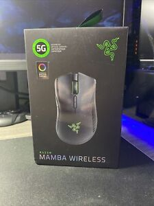 Razer Mamba RGB Lighting Wireless Gaming Mouse , Black