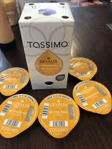Gevalia Kaffe Morning Roast Coffee T-Discs Tassimo Brewing Systems Must Read !!!