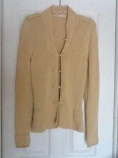 Minnie Rose Cardigan Cotton Blend  Sweater Size S