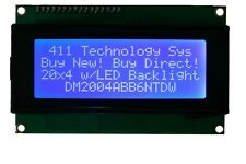 20x4, 16x2, & 20x2 Big Character LCD Display w/LED backlight ***FREE SHIPPING***