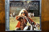 Janis Joplin's - Greatest Hits   -  CD, VG