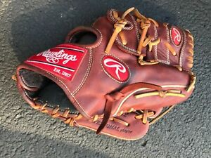 """Rawlings Baseball Glove- """"Heart of the Hide"""" Series: PRO1175-9P- Used"""