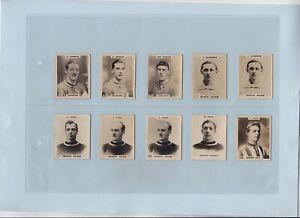 Cigarette Cards - Footballers (Godfrey Phillips Ltd.) - 50 Cards