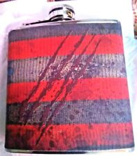 FREDDY KRUEGER FLASK by NERD EXCV. BLOCK. METAL & PATTERN OF FREDS ICON SWEATER