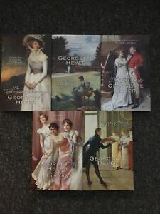 Georgette Heyer Books X 5