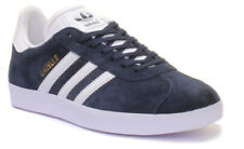 online retailer a7852 227bf Adidas Gazelle Junior Youth Blue White Suede Trainers UK Size 3 - 6,5