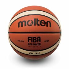 Molten GL6X FIBA Approved 12 panel Top Leather Basketball intermediate Size 6
