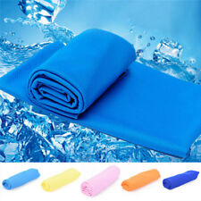 Ice Cold Enduring Running Jogging Gym Chilly Pad Instant Cooling Towel Sports OZ
