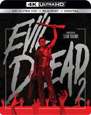 Evil Dead 2 [New 4K UHD Blu-ray] With Blu-Ray, 4K Mastering, Digital Copy