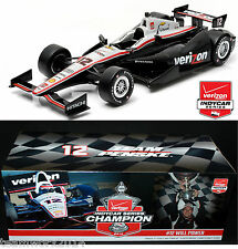 GREENLIGHT 2014 Verizon IndyCar Champion #12 - Will Power Diecast Car 1:18 10958
