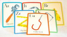 "Alphabet Letter Cards, 8 X 10"" eeBoo Educational Pre-School Material, Hardware"