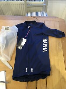 Mens Rapha Pro Team Aero Jersey, Navy Blue , Extra Small, XS, In Packaging
