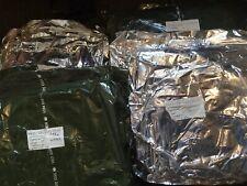 More details for genuine issue danish nbc abc cbrn sealed woodland camo 1 piece bio suit prepper