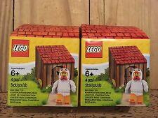 LEGO 2x Chicken Suit Guy Minifigure 5004468  New in Coop