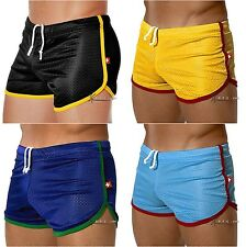 Brand New Men's Sexy Breathable Mesh Underwear Sports Shorts X1PC