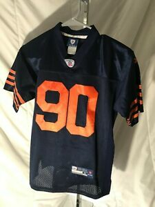 Chicago Bears: Julius Peppers #90:Reebok On Field Jersey: YOUTH SMALL 10-12